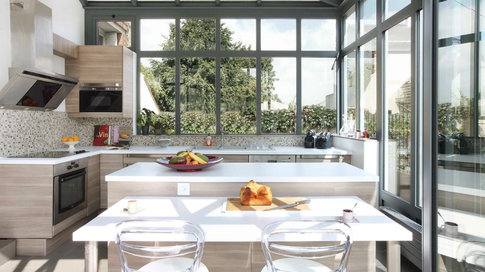 Comment installer sa cuisine dans la v randa nos - Comment installer une cuisine equipee ...