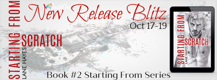 ~Release Blitz~Starting from Scratch (Starting From #2) by Lane Hayes~Review, Excerpt & Giveaway~