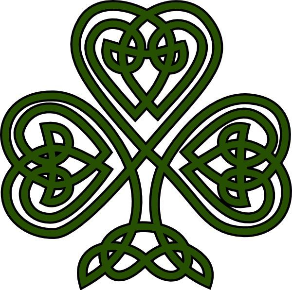 free irish fonts celtic shamrock clip art vector clip art online rh pinterest co uk celtic clipart borders celtic clip art black and white