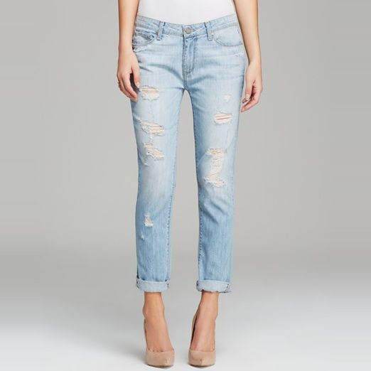 Rank & Style Top Ten Lists | Paige Denim Jeans - Jimmy Jimmy Skinny #rankandstyle #summer #denim #jeans #perfectfit