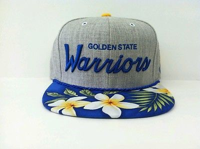 Mitchell and Ness NBA Golden State Warriors Custom Snapback Cap Heather | eBay