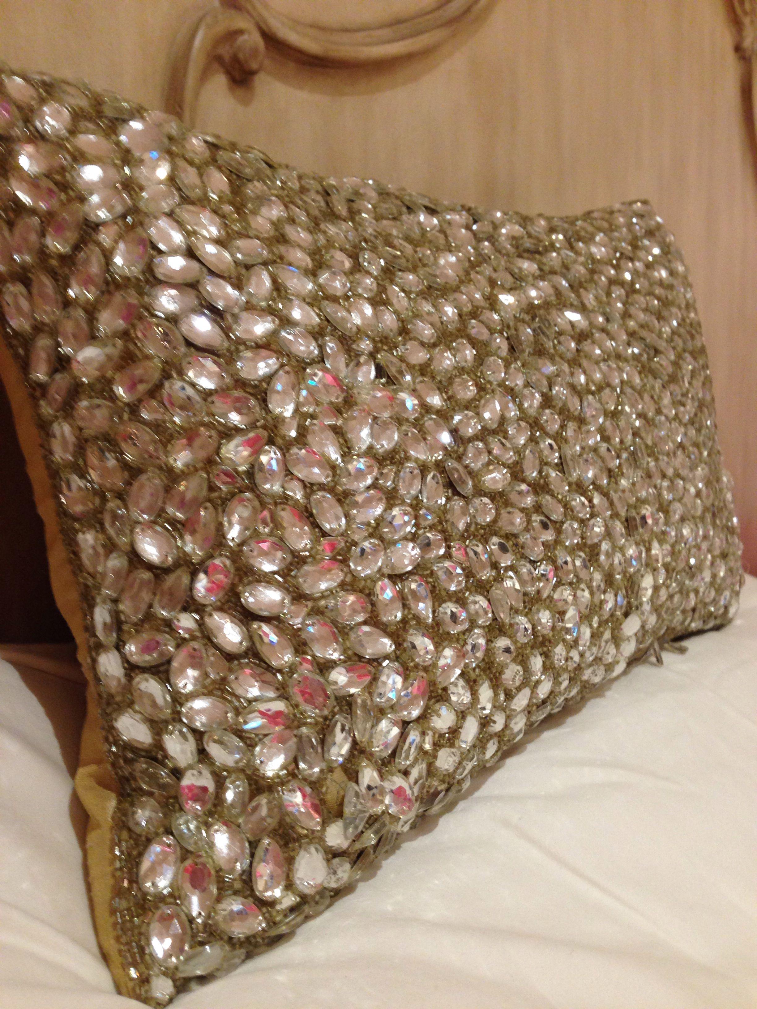 My Bling Pillow Home Decor Pinterest Bling Pillows
