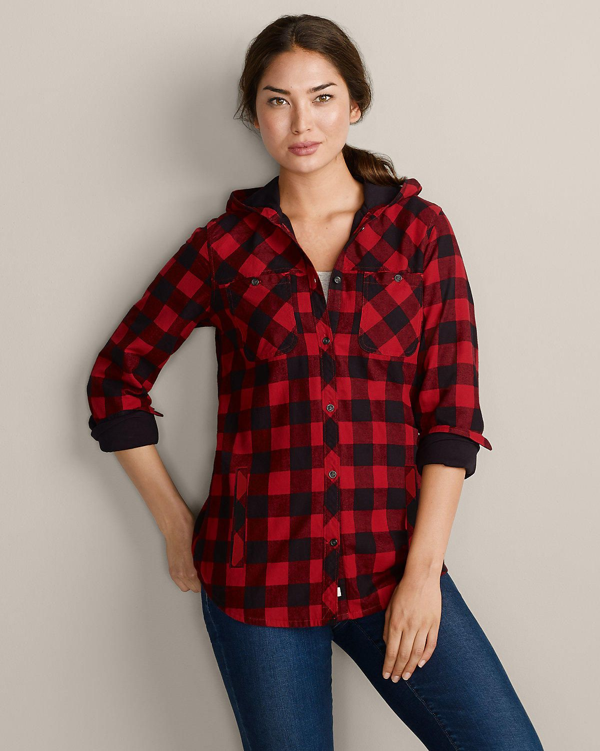 Flannel shirt women  red and white flannel women  Google Search  FallWinterClothes