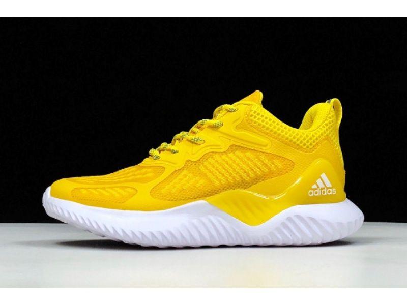 2020 的 Adidas Alphabounce Beyond W Yellowwhite B43611 主题