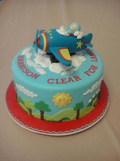 airplane baby shower cake Edible Art Pinterest Airplane baby