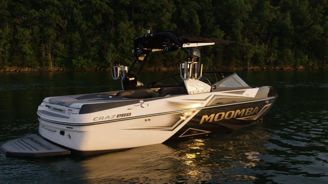 When Your Dreams Are Set For Something Bigger On The Water The 2019 Craz Pro Is Ready For Your Anything Moombaboatsforsaleaustr Moomba Boats Ski Boats Boat
