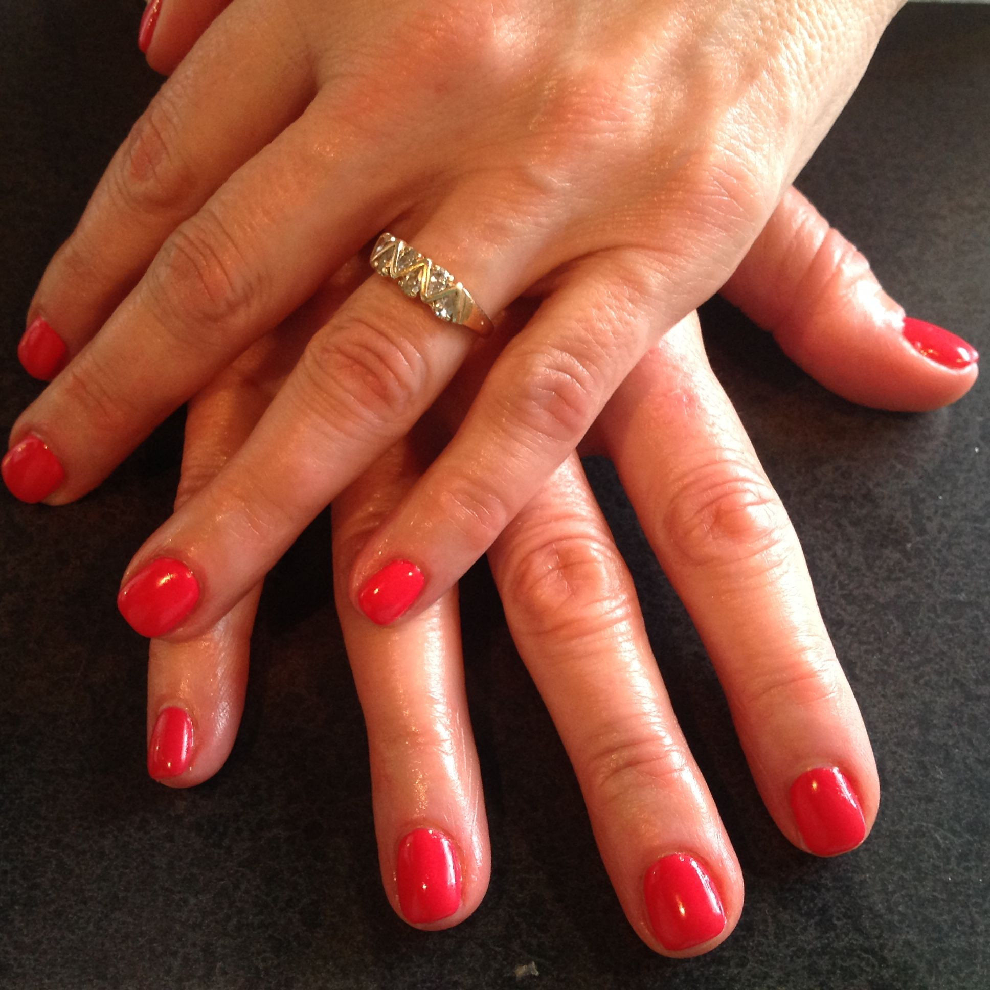 LCN Gel nails done by Andrea. OPI gel nail color from the New ...