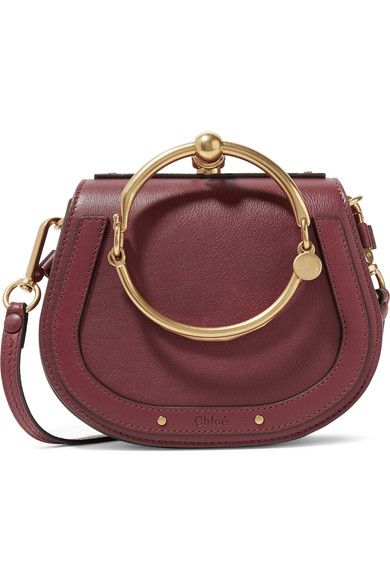 eed8e6cbc2 Chloé - Nile Bracelet small leather and suede shoulder bag in 2019 ...