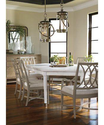 Stanley furniture dining tables coastal living - Hilton furniture living room sets ...