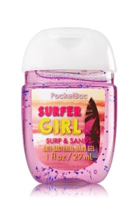 Surfer Girl Surf Sands Pocketbac Sanitizing Hand Gel Bath