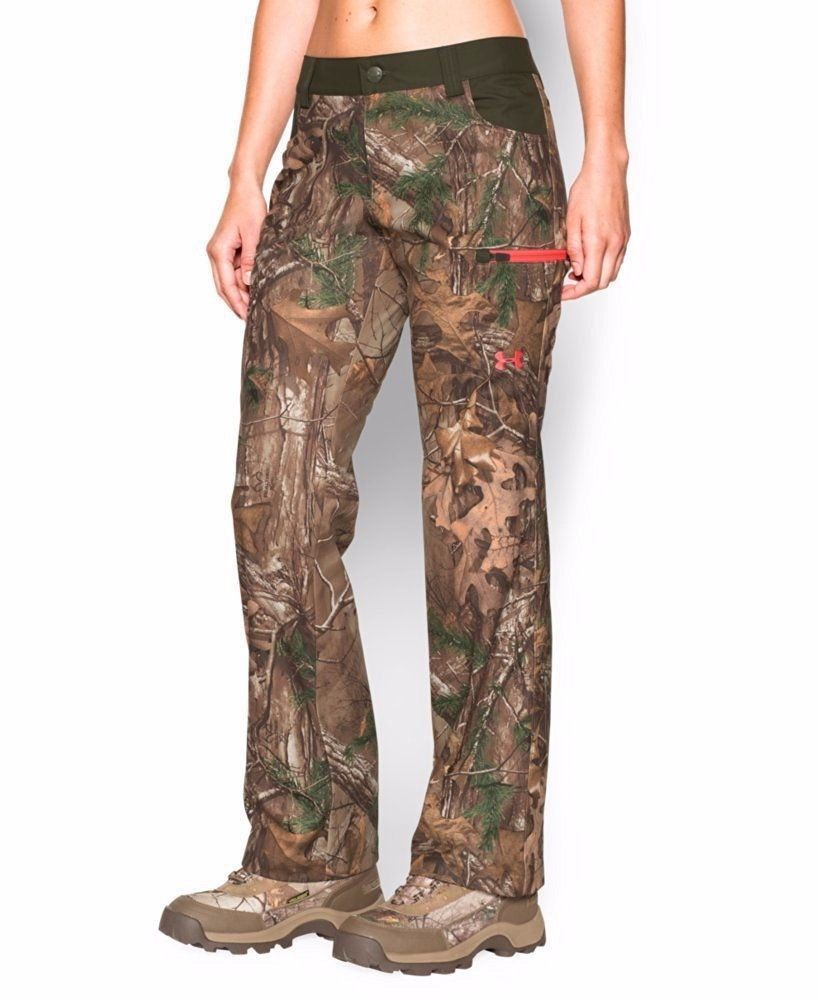 UNDER ARMOUR WOMENS UA SCENT CONTROL EARLY SEASON SPEED FREAK HUNTING PANTS  LRG  Underarmour f292a8842b
