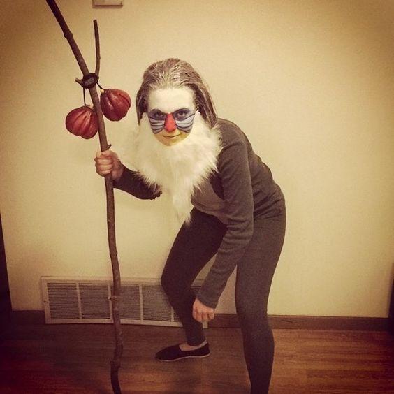 DIY Monkey Halloween Costume Idea & DIY Monkey Costume | Halloween costumes Monkey halloween costume ...