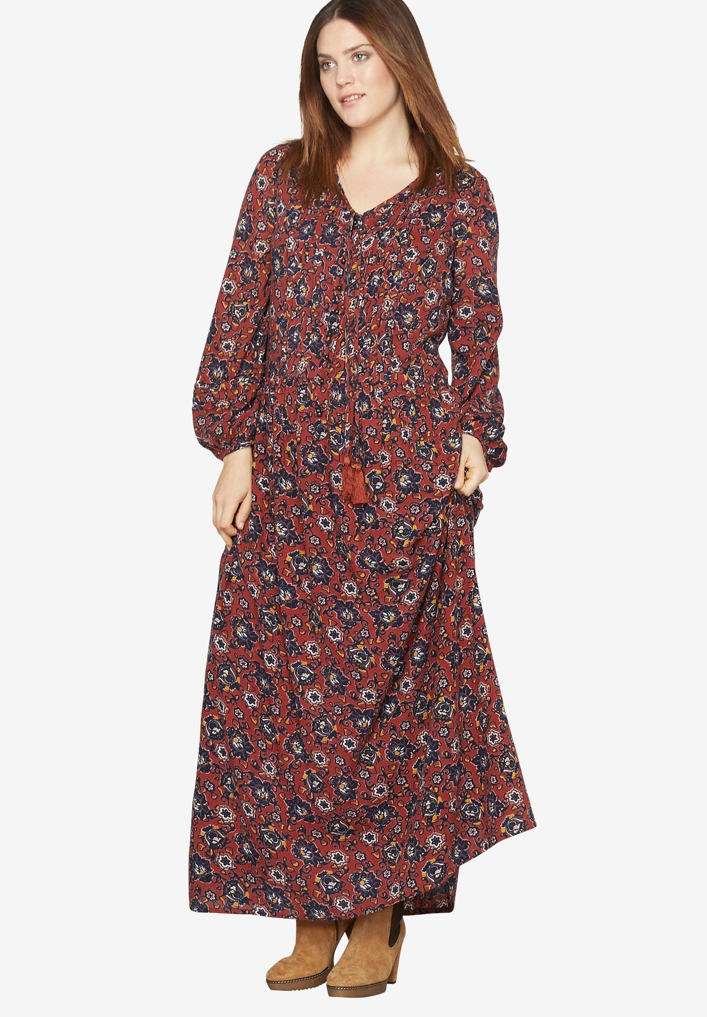 7b04a880e9a Shop for Print Maxi Dress By Castaluna and more Plus Size Maxi Dresses from  fullbeauty. Your Online Fashion Mall for Sizes 12W to 44W
