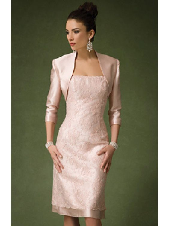 Sexy Mother of the Bride Dresses with Jacket Knee Length Pant Suit ...
