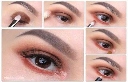 59 ideen makeup tutorial schritt für schritt lidschatten