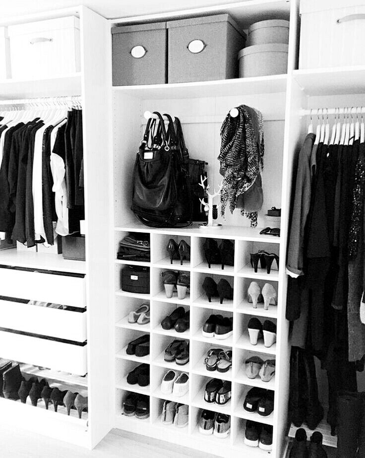 Closet organization ideas for master bedroom.