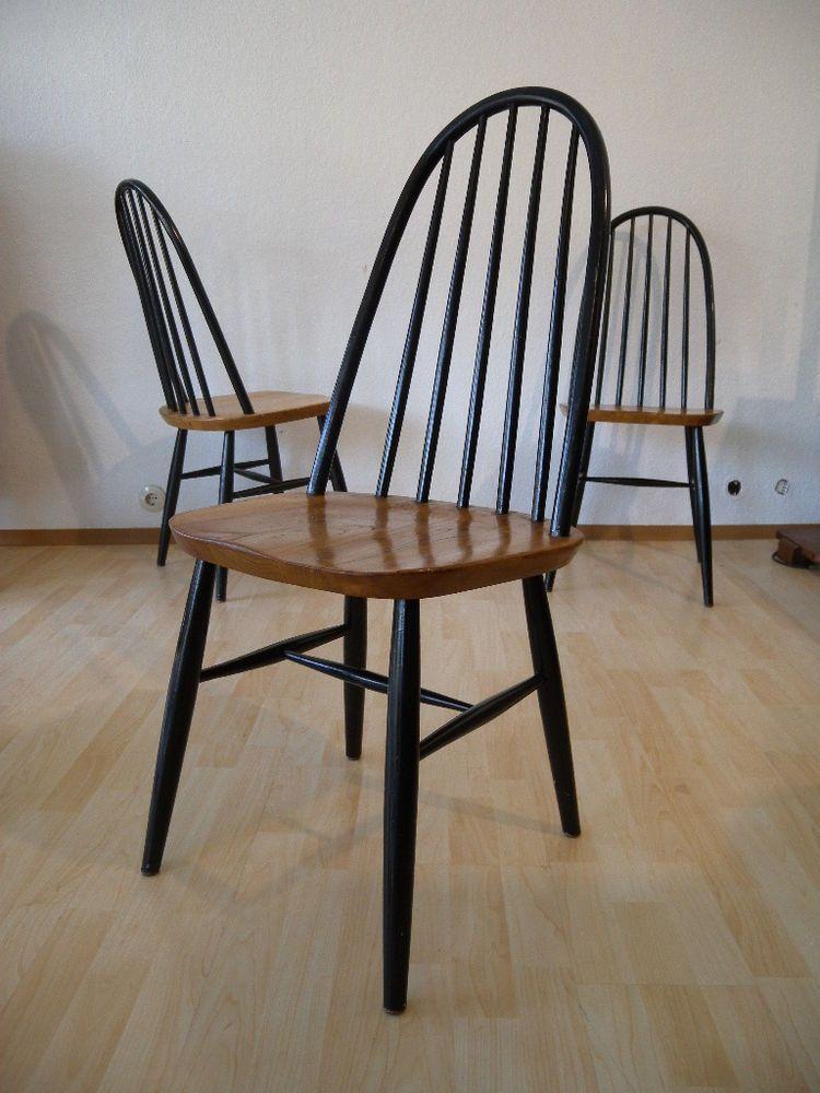 mid century oak quaker chair - design Lucian Ercolani | furniture ...