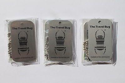 Geocaching Travel Bug Unactivated Groundspeak Trackable.