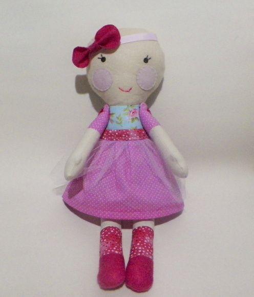 boneca de pano careca | bonecos | Pinterest