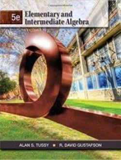 Elementary And Intermediate Algebra 5th Edition Pdf Download Here Algebra Math Textbook University Of Redlands