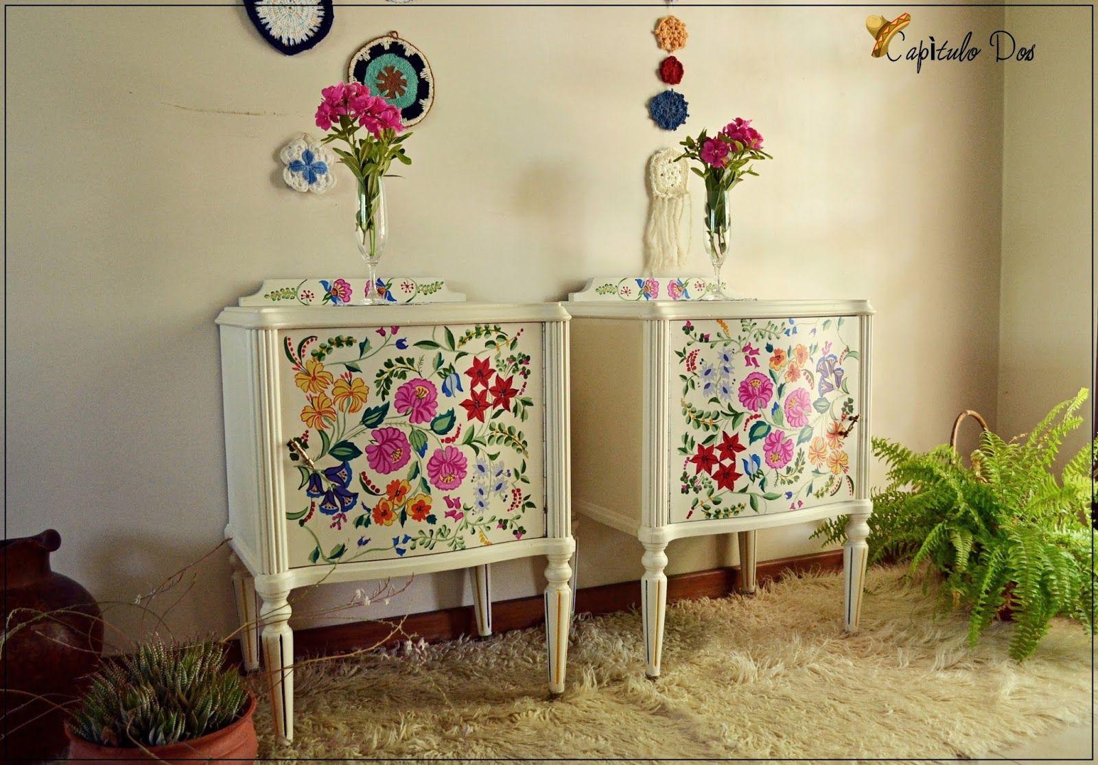 muebles estilo mexicano - Buscar con Google | muebles pintados ...