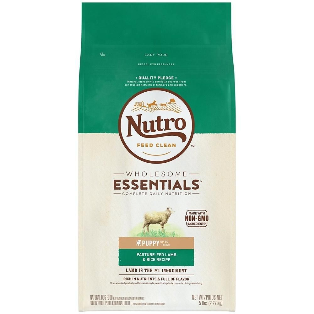 Nutro Wholesome Essentials Puppy Pasture Fed Lamb Rice Dry Dog