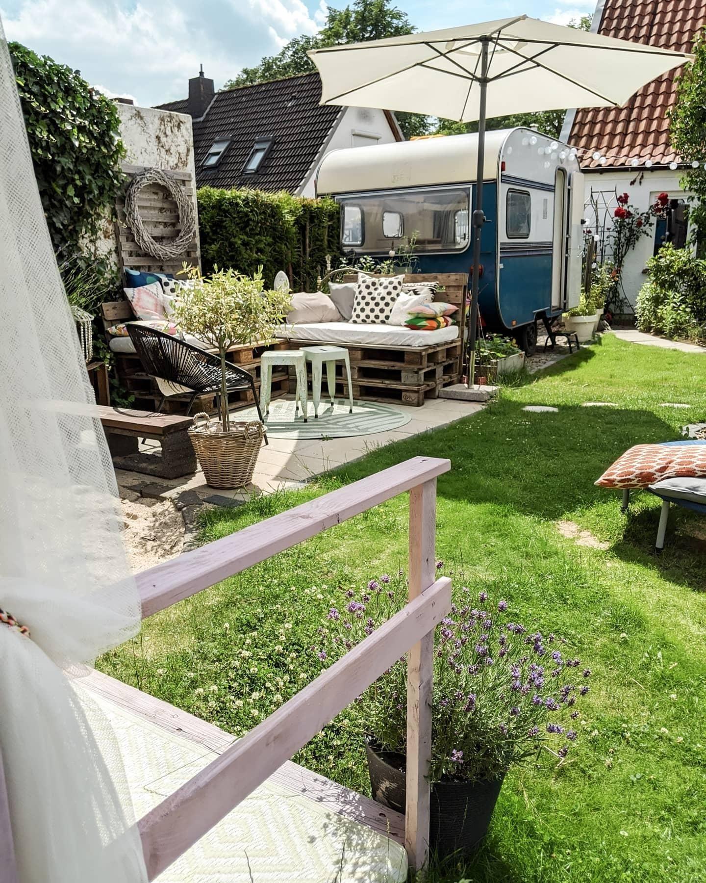 Wohnwagen Caravan Gartenideen Garten Outd Garten Garten Terrasse Garten Ideen