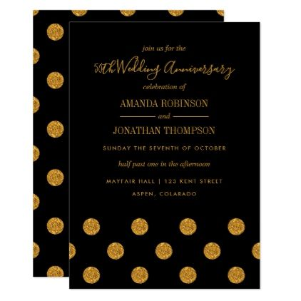 50th golden wedding anniversary invitation wedding invitations diy 50th golden wedding anniversary invitation wedding invitations diy cyo special idea personalize card stopboris Image collections