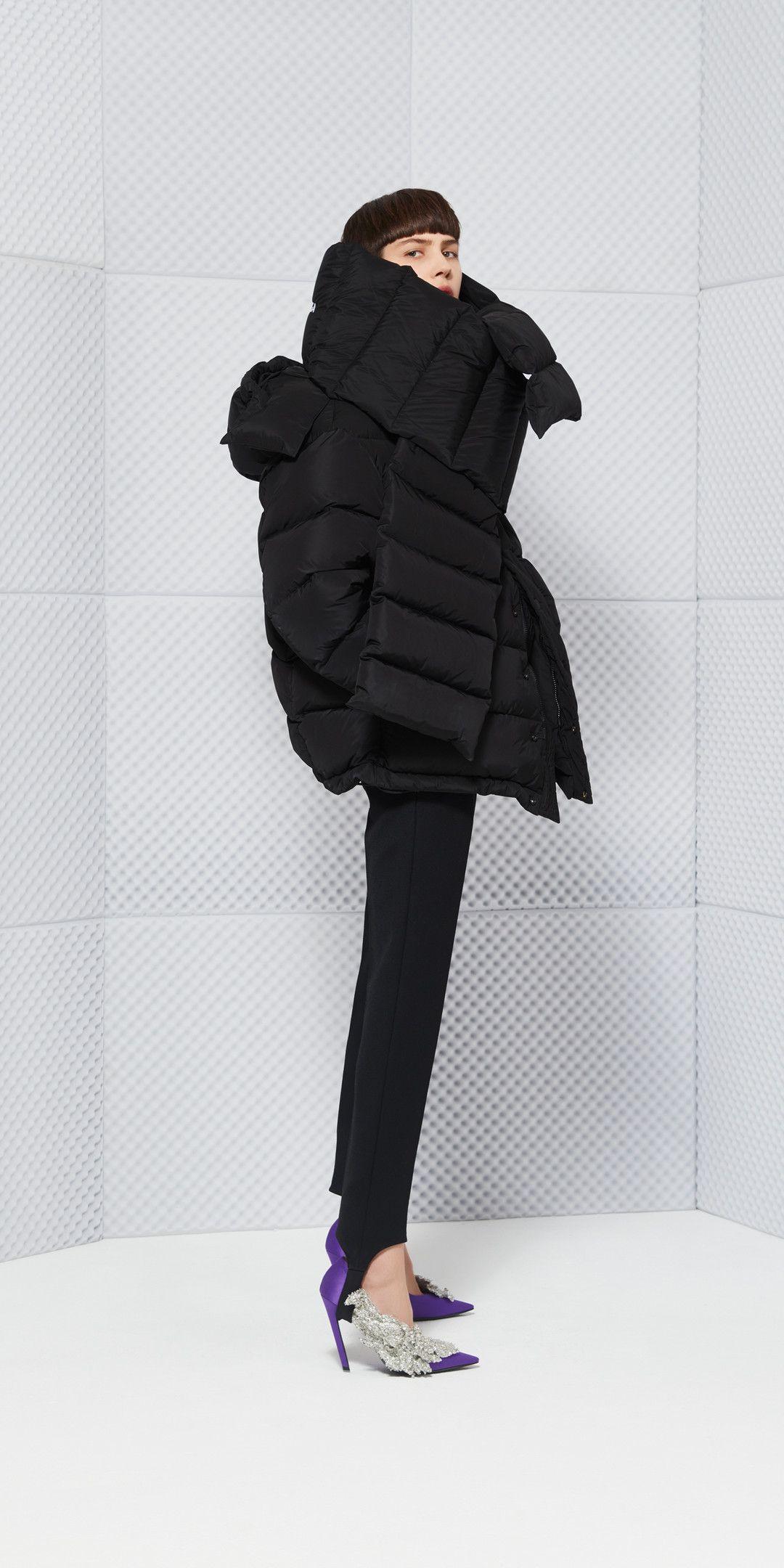 Balenciaga Manteau Doudoune pour Femme   Balenciaga