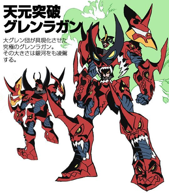 Another Robot That I Have Recently Become Enamored With Gurren