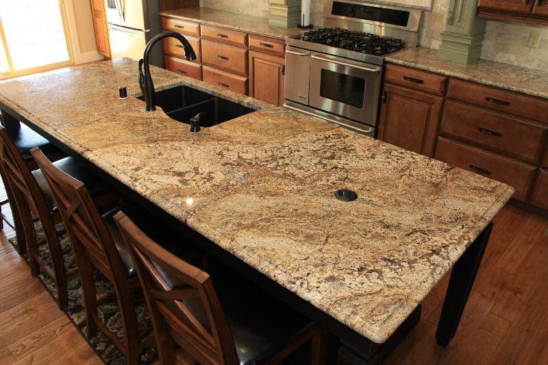 Images Of Finished Exotic Granite In Kitchens | Africa Range Exotic Granite