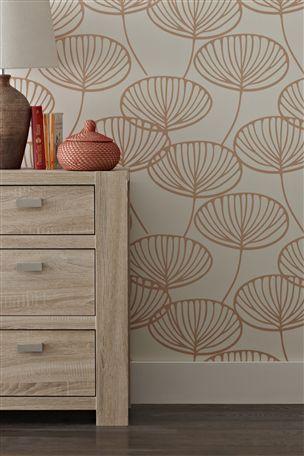 Buy Orange Seedpod Wallpaper From The Next UK Online Shop