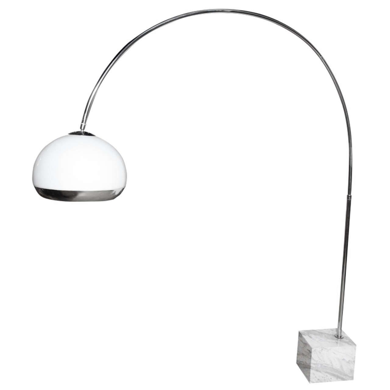 Harvey Guzzini For Laurel Lighting Co Arc Floor Lamp Kana