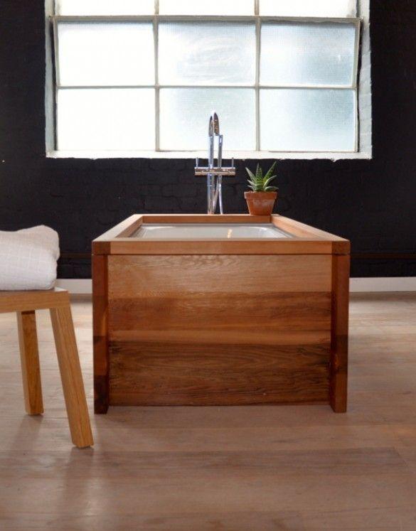 Cedar Freestanding Bath