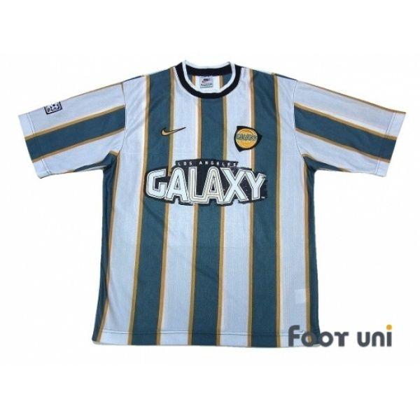 246a81b3d Photo1  Los Angeles Galaxy 1997 Away Shirt MLS Patch Badge nike - Football  Shirts