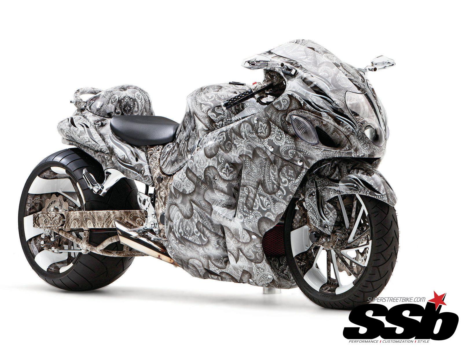 Suzuki Hayabusa Predator bike Super cool tuning Girls, cars and ...