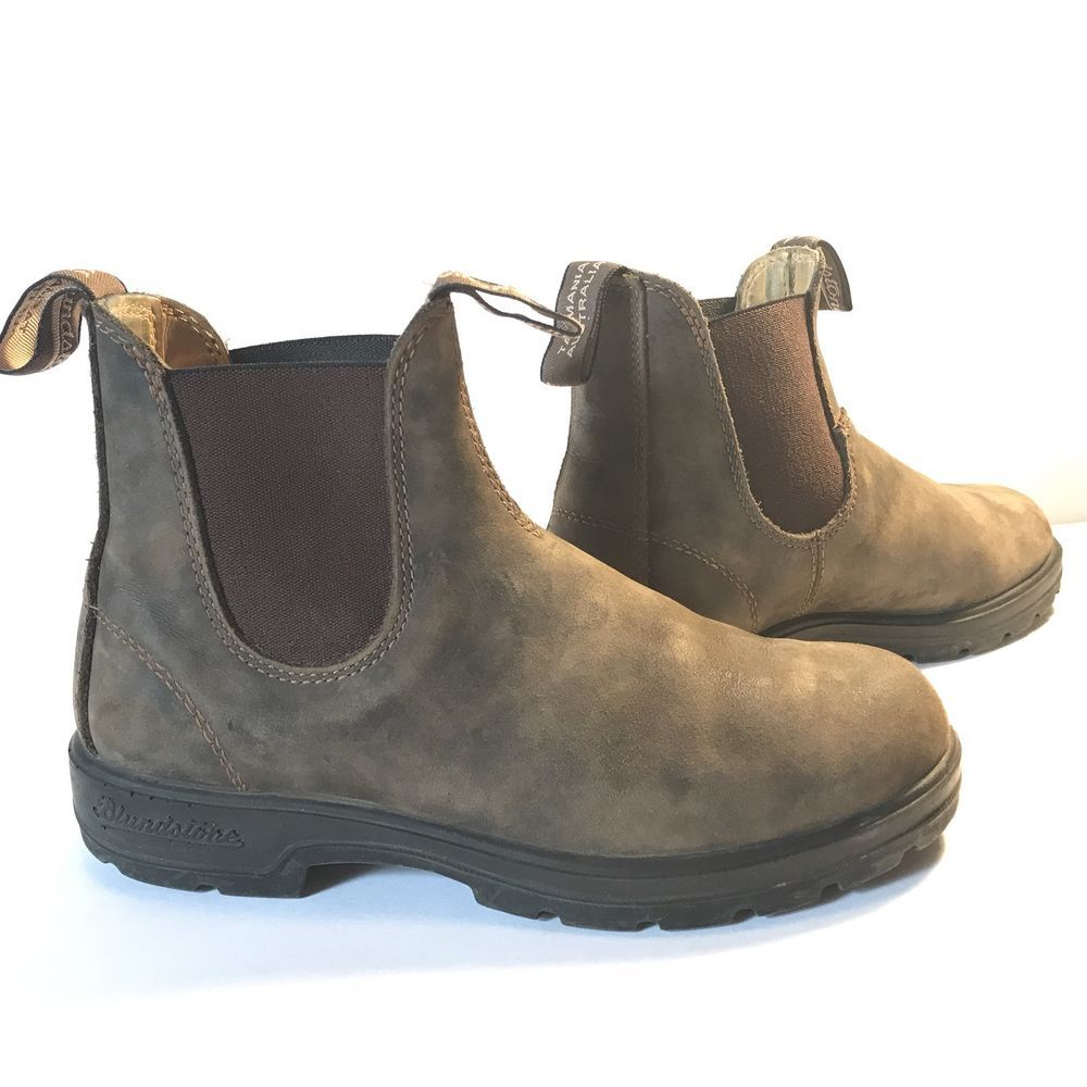 6adfc37ad6ecfd Blundstone Australia Pull On Boots Womens Size 7.5 Tasmania Rustic Brown  Leather  Blundstone  HikingBoots  CasualOutdoor