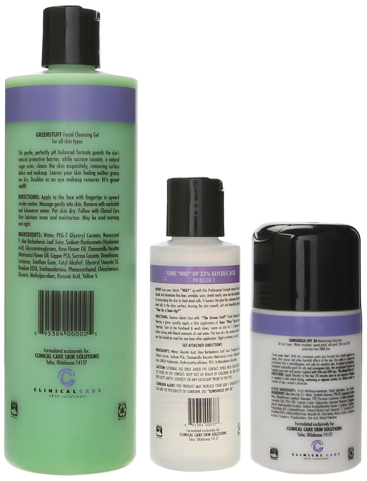 Clinical care sugar cane peel kit you can find out