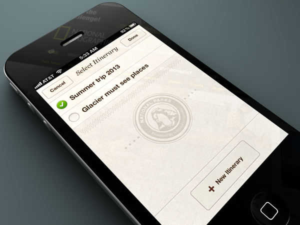 National Parks by National Geographic for iPhone by Rally Interactive