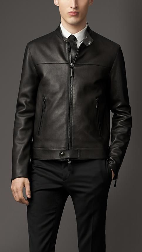 Men S Jackets Leather Bikers Bomber Amp Quilted Moda