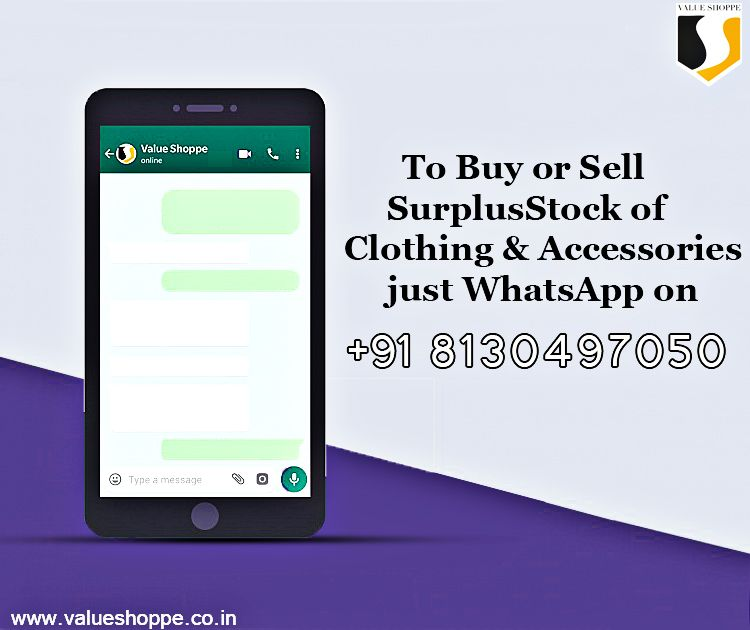 Sell Surplus Stock Selling Clothes Outfit Accessories Whatsapp Message