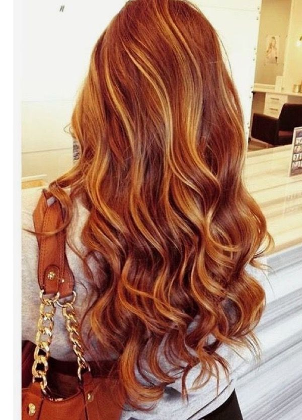 Blonde And Copper Brown Blonde Hair Balayage Hair Hair Styles