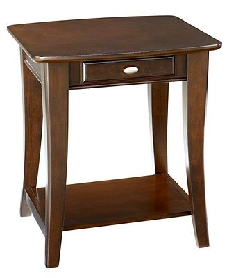 Quinn End Table Living Room For The Home Macy S Furniture