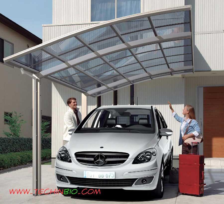 carport in alluminio tettoia parcheggio auto design