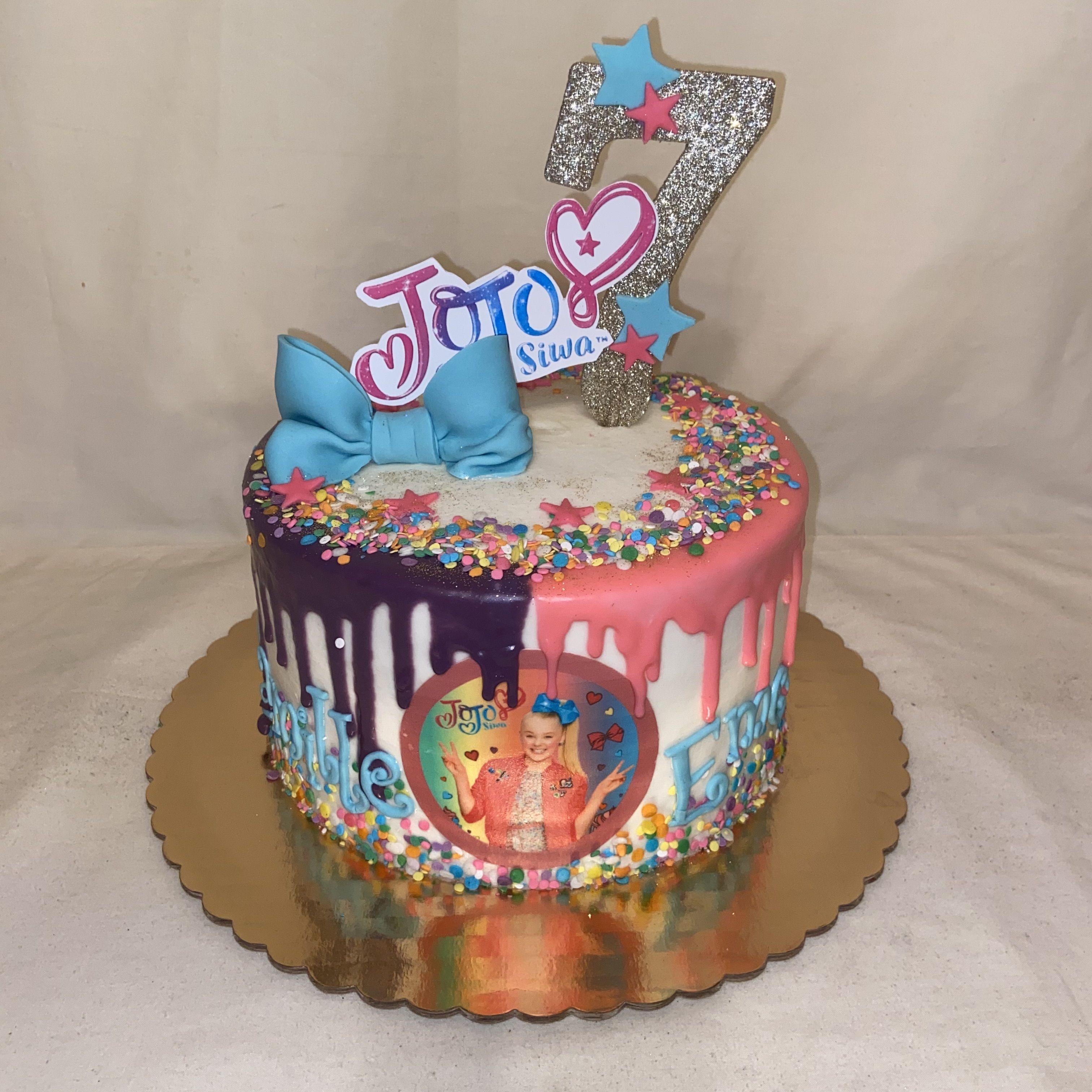 Jojo siwa cake in 2020 cake cake designs desserts