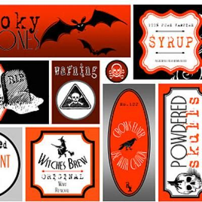 DIY - Free Halloween Trick or Treat Party Printables (Source : http://www.tipjunkie.com/holiday-crafts/halloween/free-halloween-trick-or-treat-party-printables-halloween-party-printables/)