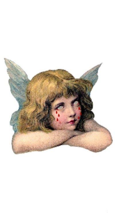 Angel Do Not Cry Aesthetic Art Angel Wallpaper Art
