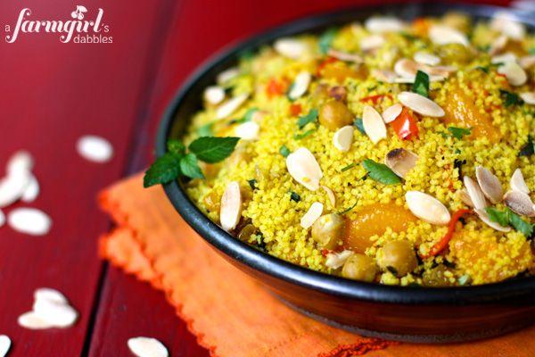 Moroccan Orange Couscous Salad