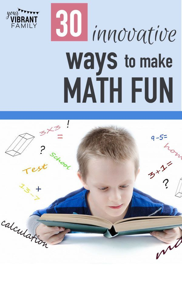 30 Ways to Make Math the Funnest Ever | Learn math, Math and Learning