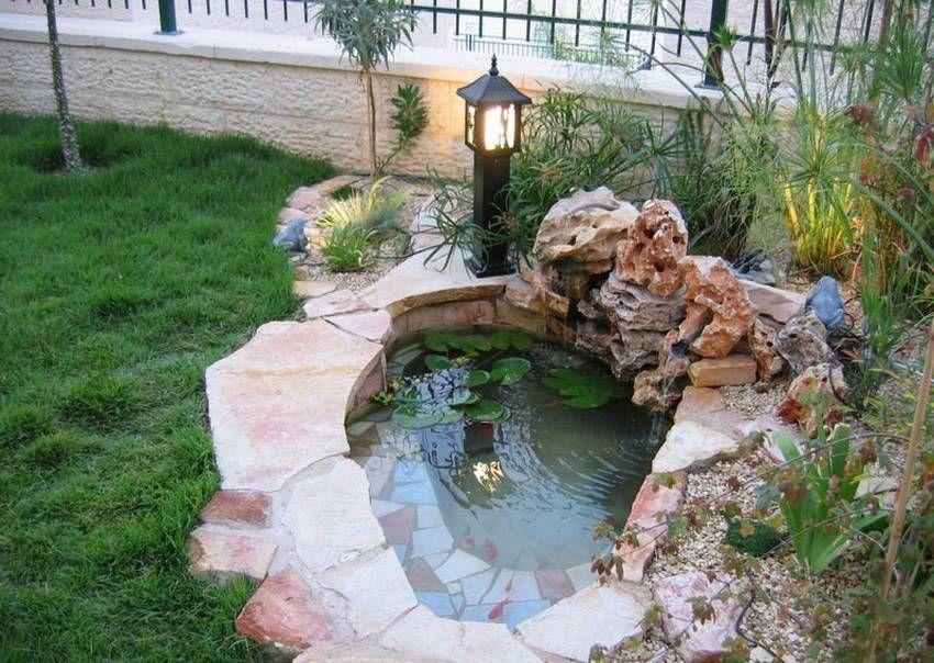 Декоративные бассейны для дачи фото   Открытый водоем ...